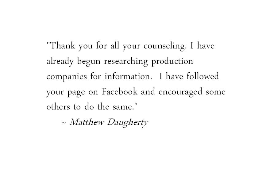Matt Testimonial