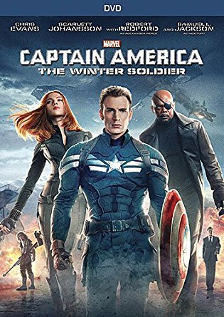 Captain America: Winter Soldier DVD cover