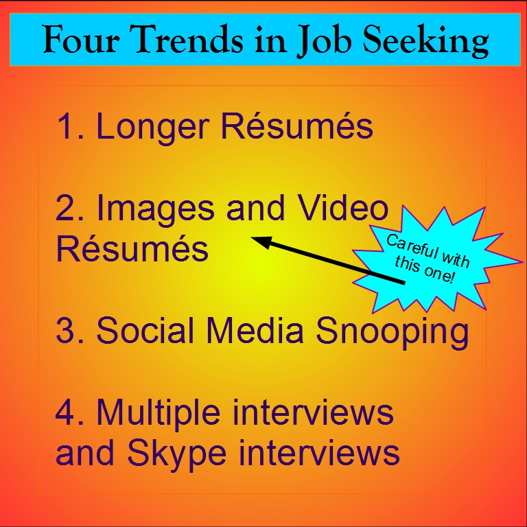 Four Job trends