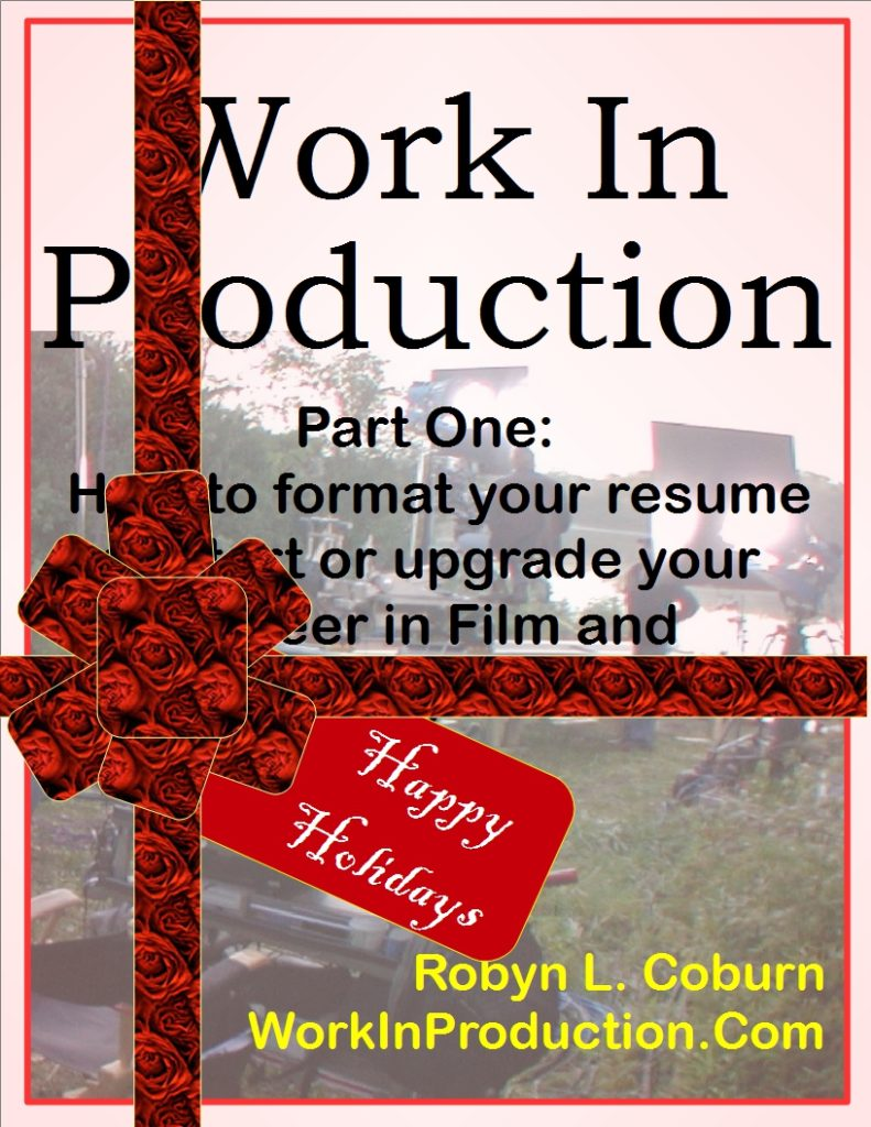 Work In Production Part One Cover