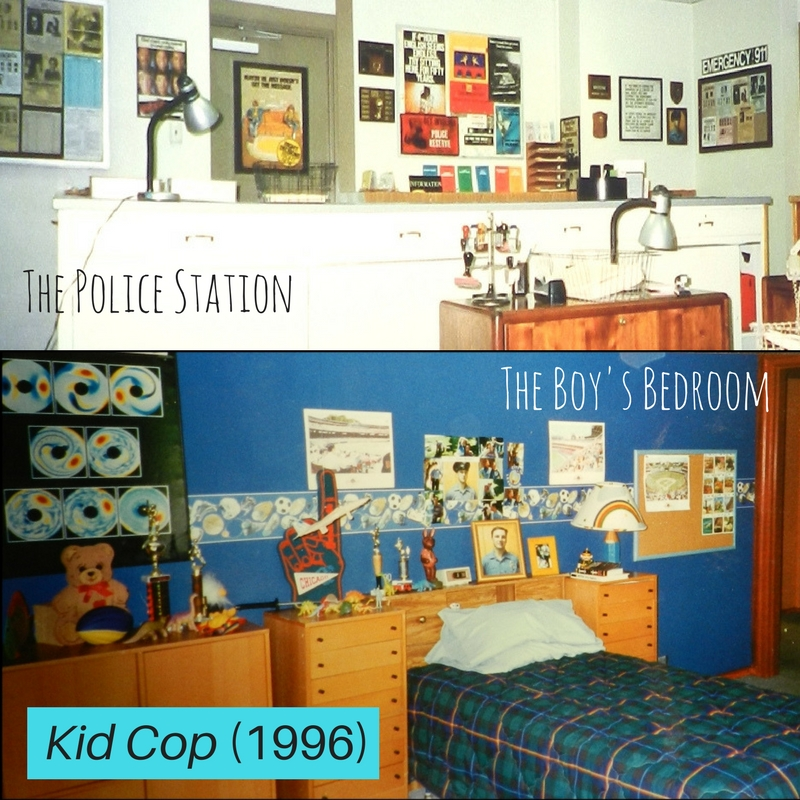 Two Sets from KID COP (1996)