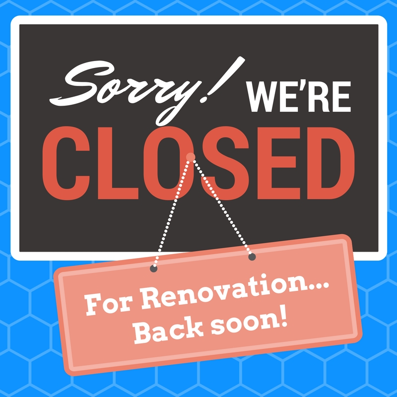 Sorry, we're closed. Back Soon!