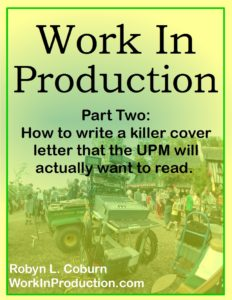 Work In Production Part Two book cover