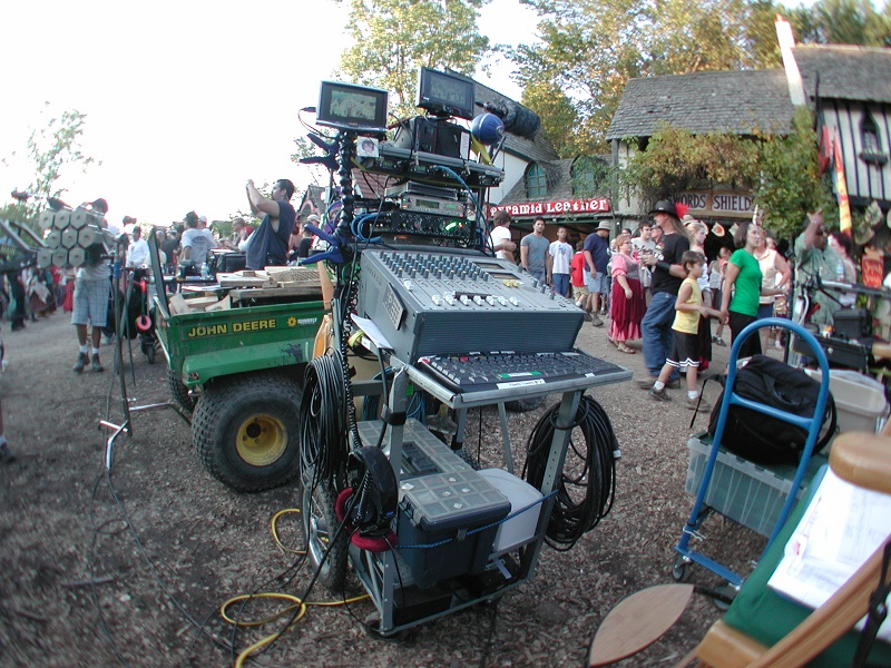 Sound Cart on location