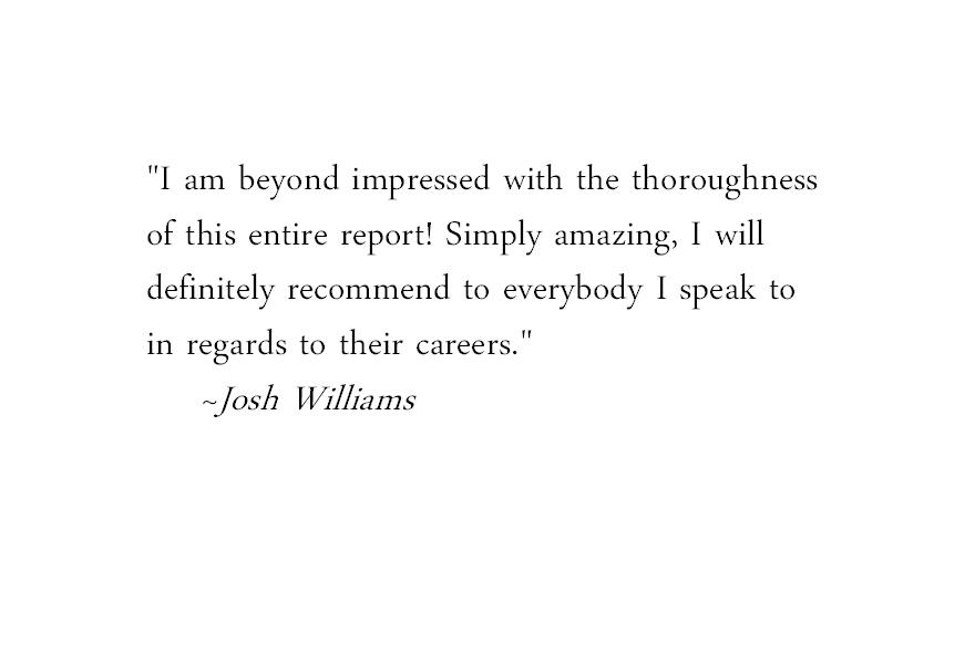 Josh Testimonial