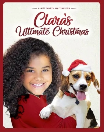 Poster for Clara's Ultimate Christmas.