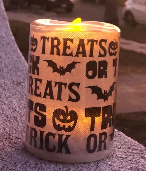 A Halloween Luminary