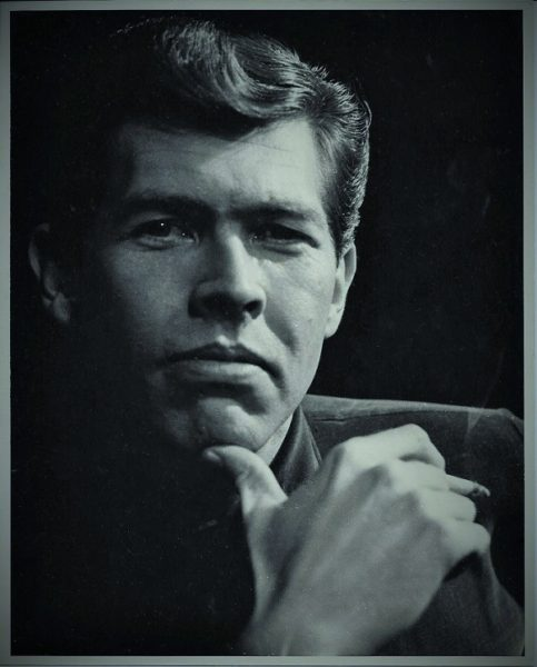 Early James Coburn headshot from the late 1950's.